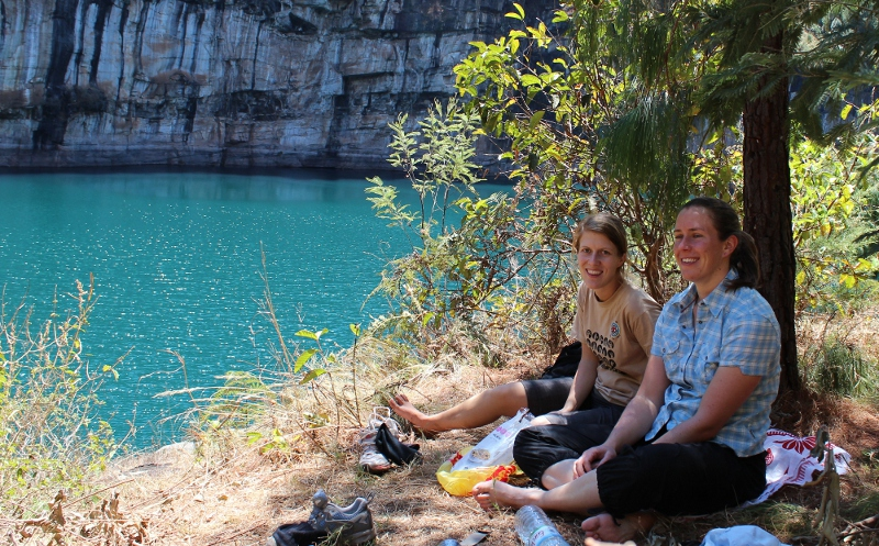 Frokost ved Lac Tritriva