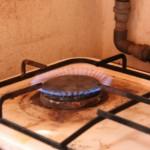 Biogas der brænder